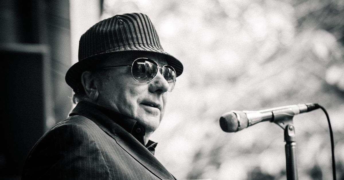 EDPCOOLJAZZ anuncia Van Morrison, lenda vida do Rhythm & Blues