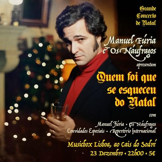 Manuel Fúria e os Náufragos lançam novo vídeo e anunciam mais convidados para concerto de Natal