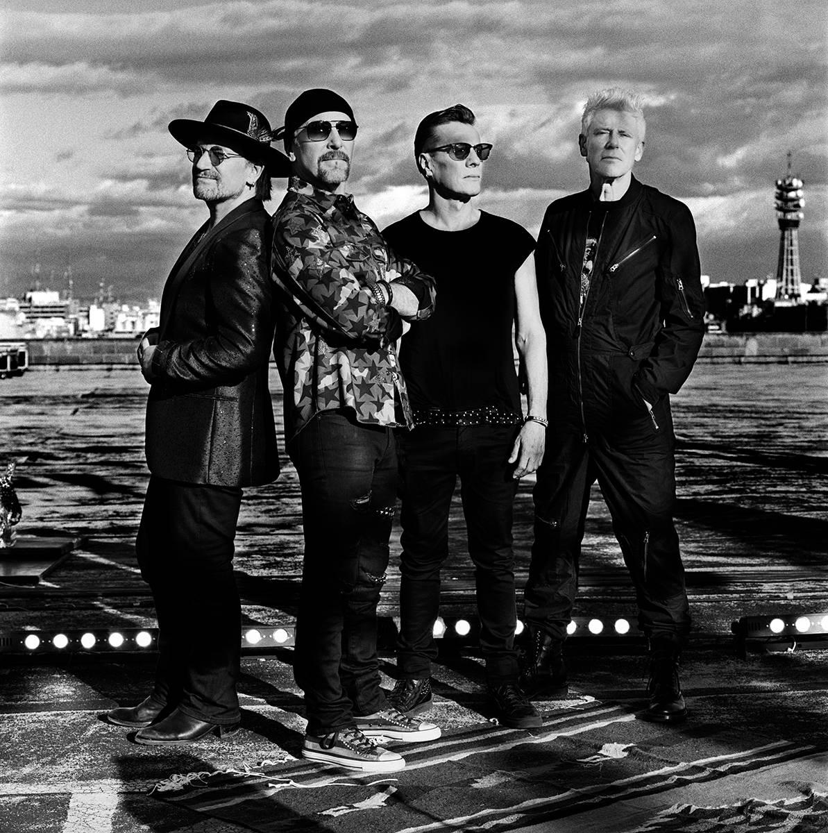 U2 estão de volta a Portugal