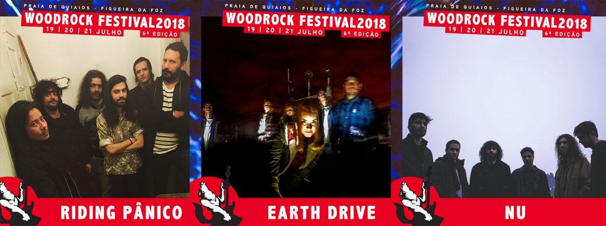 WOODROCK FESTIVAL adiciona 3 bandas nacionais ao seu cartaz