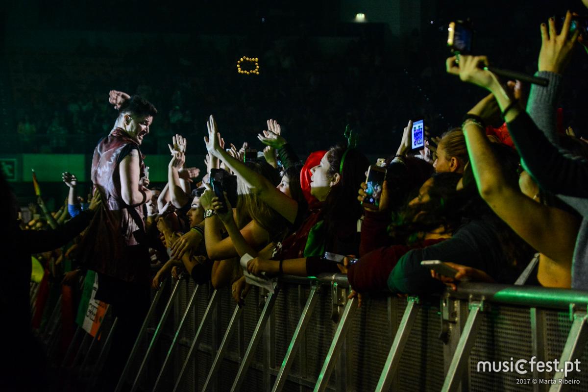 Vê aqui todas as fotos dos The Script na Altice Arena