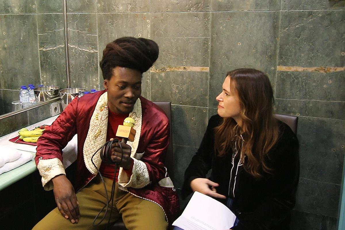Entrevista com Benjamin Clementine no Super Bock Under Fest