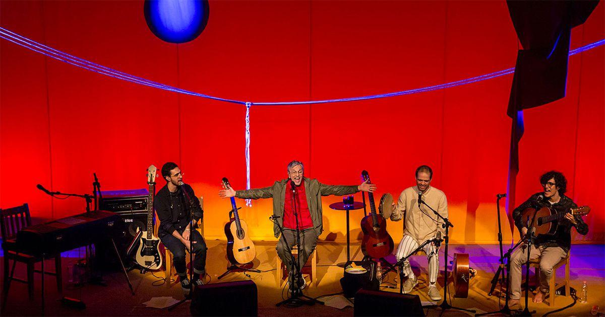 Caetano Veloso apresenta espectáculo inédito nos Coliseus na companhia dos seus 3 filhos