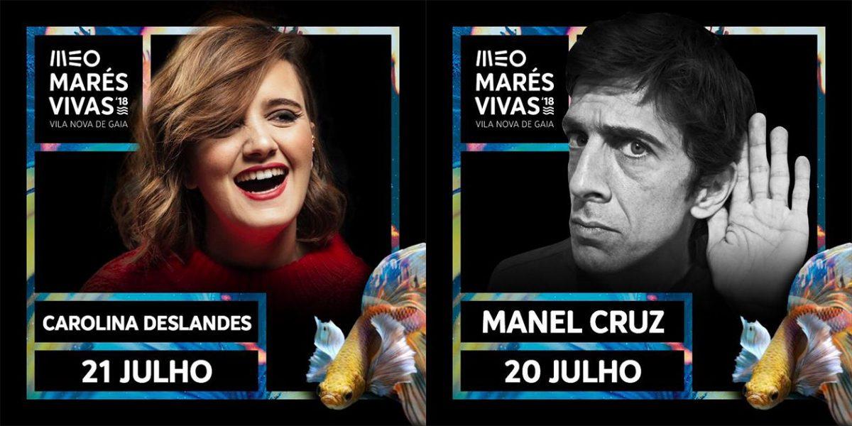 MEO Marés Vivas em português com Manel Cruz e Carolina Deslandes