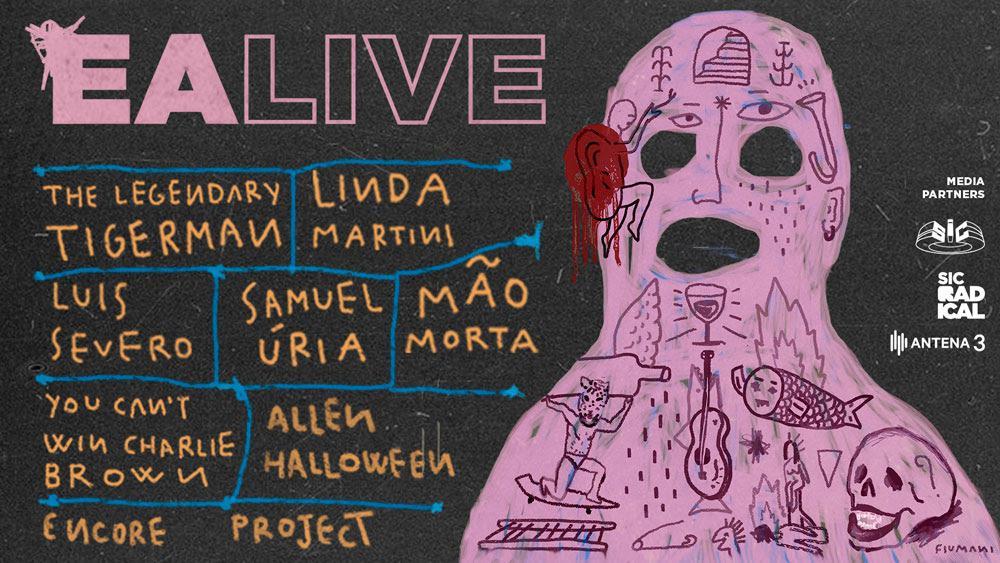 EA LIVE 2018: 8 bandas, 8 horas de música, 30 de Maio no Coliseu de Lisboa