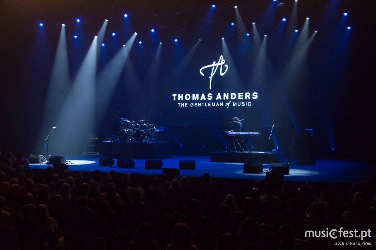 Thomas Anders no Casino do Estoril - a reportagem