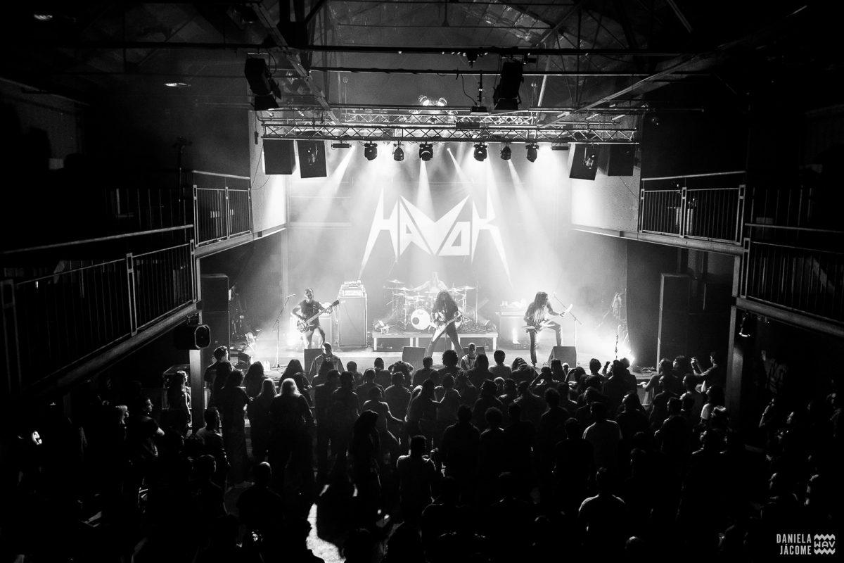 Aqui há thrash! Reportagem nos concertos de Havok + Darkest Hour + Cephalic Carnage + Harlott no Lisboa ao Vivo
