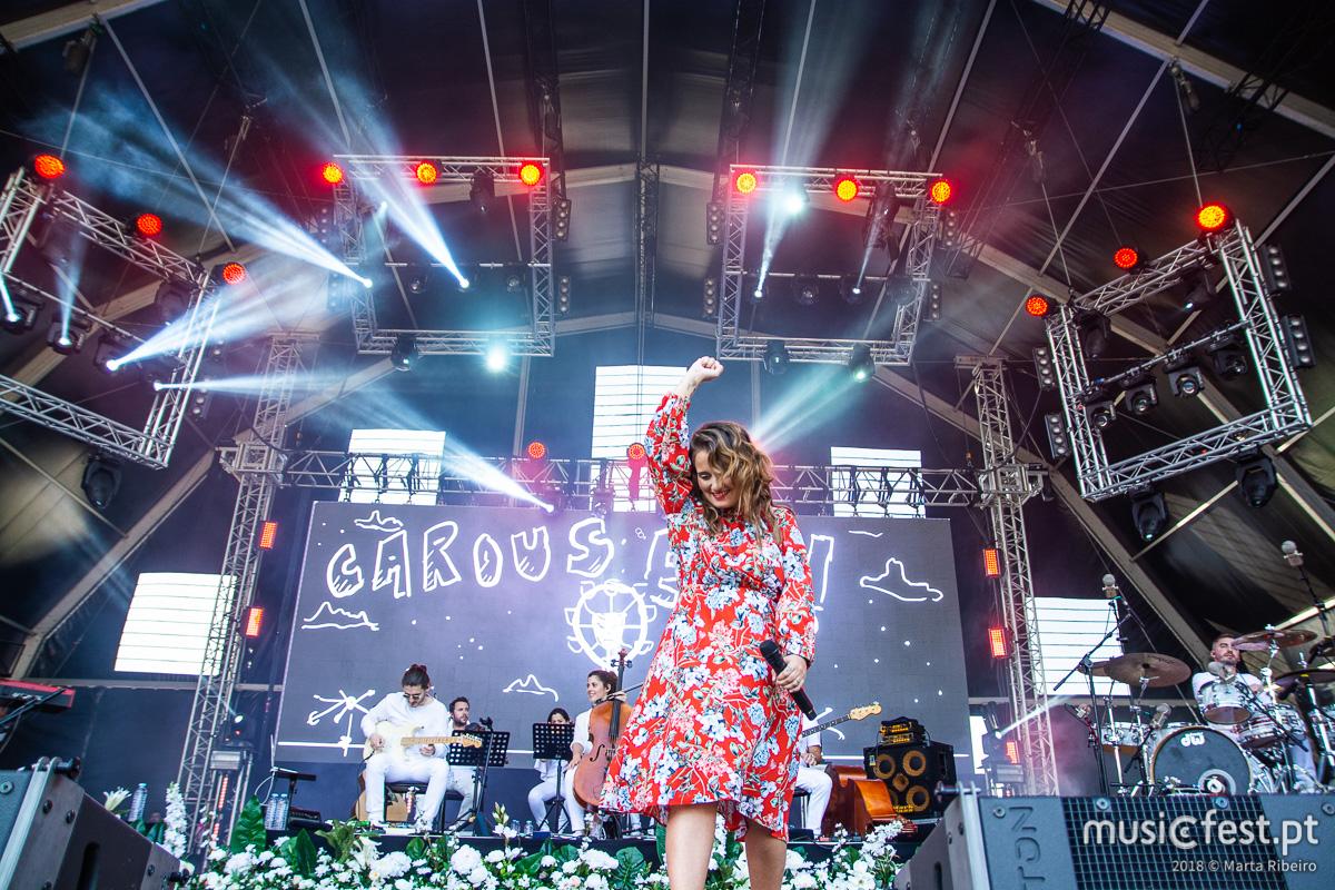 Vê aqui todas as fotos de Carolina Deslandes no Rock in Rio Lisboa