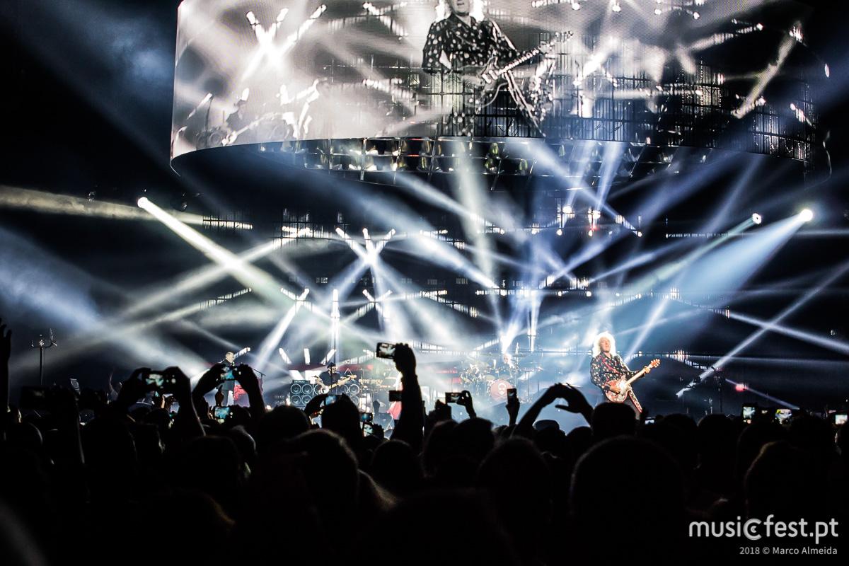 Vê aqui todas as fotos de Queen + Adam Lambert na Altice Arena