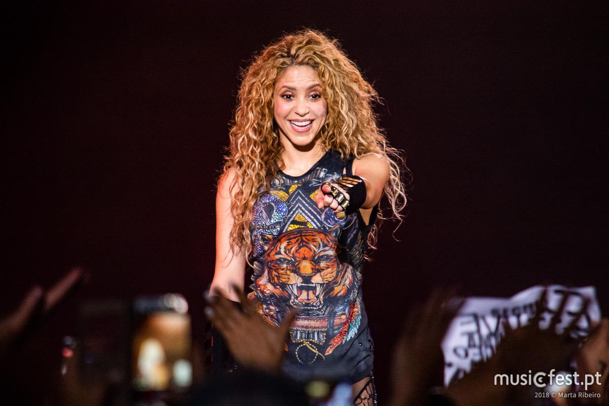 Shakira na Altice Arena: O regresso da Rainha de El Dorado