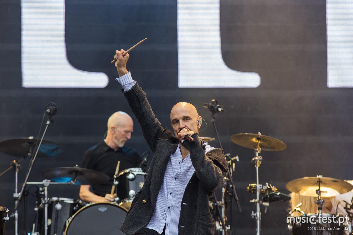 Vê aqui todas as fotos dos James no Rock in Rio Lisboa