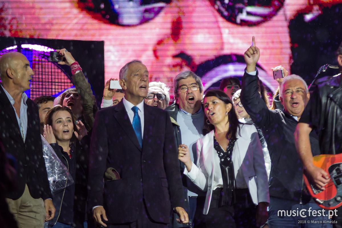 Vê aqui todas as fotos dos Xutos & Pontapés no Rock in Rio Lisboa