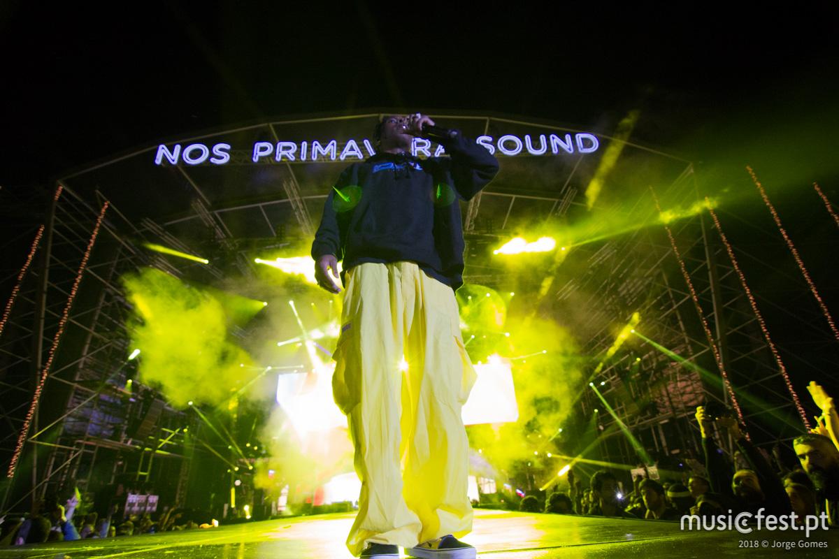 Vê aqui todas as fotos de A$AP Rocky no NOS Primavera Sound