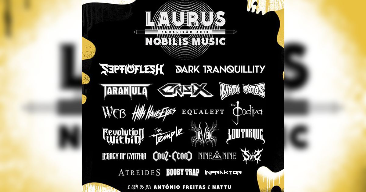 Passatempo: Passes para o Laurus Nobilis Music 2018
