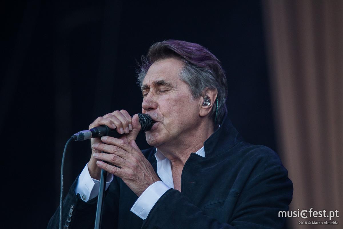 Vê aqui todas as fotos de Bryan Ferry no NOS Alive