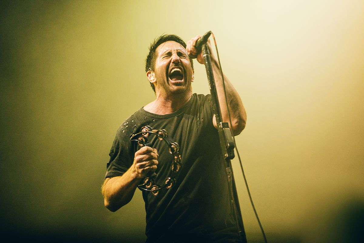 Nine Inch Nails - Foto de Arlindo Camacho (NOS Alive)