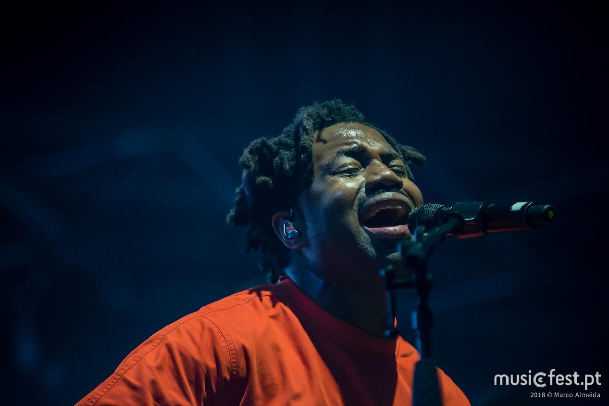 Vê aqui todas as fotos de Sampha no NOS Alive