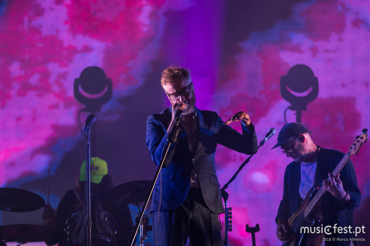 The National (outra vez) em Portugal, no Rock in Rio Lisboa 2020