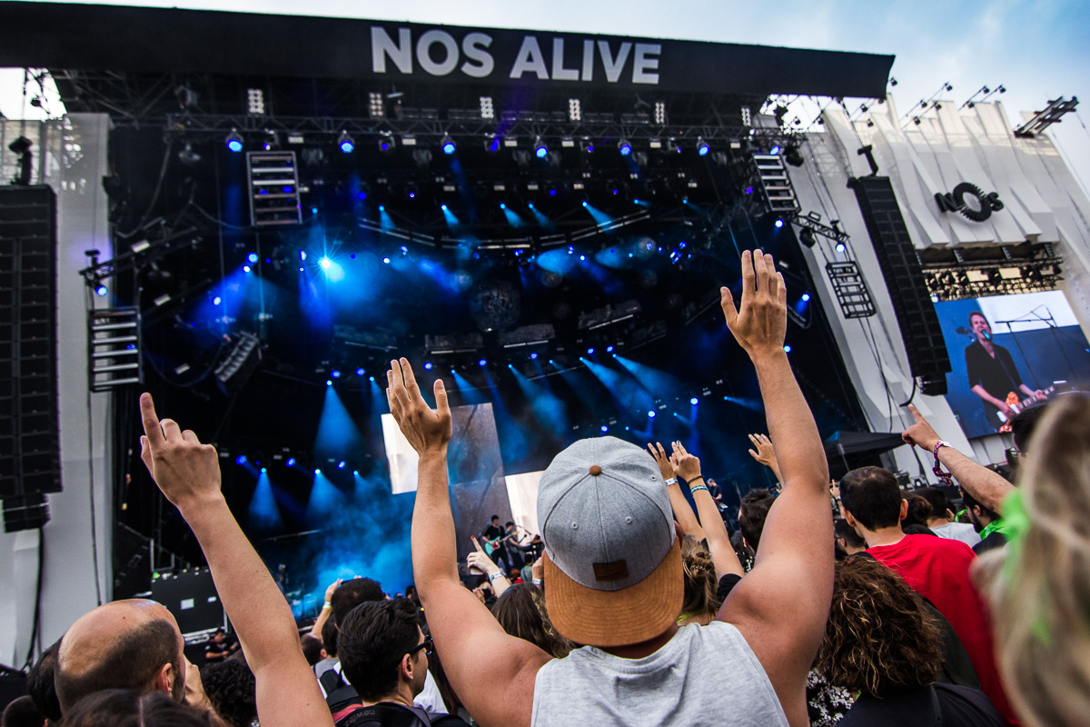 Corações ao alto - o último dia de NOS Alive'18