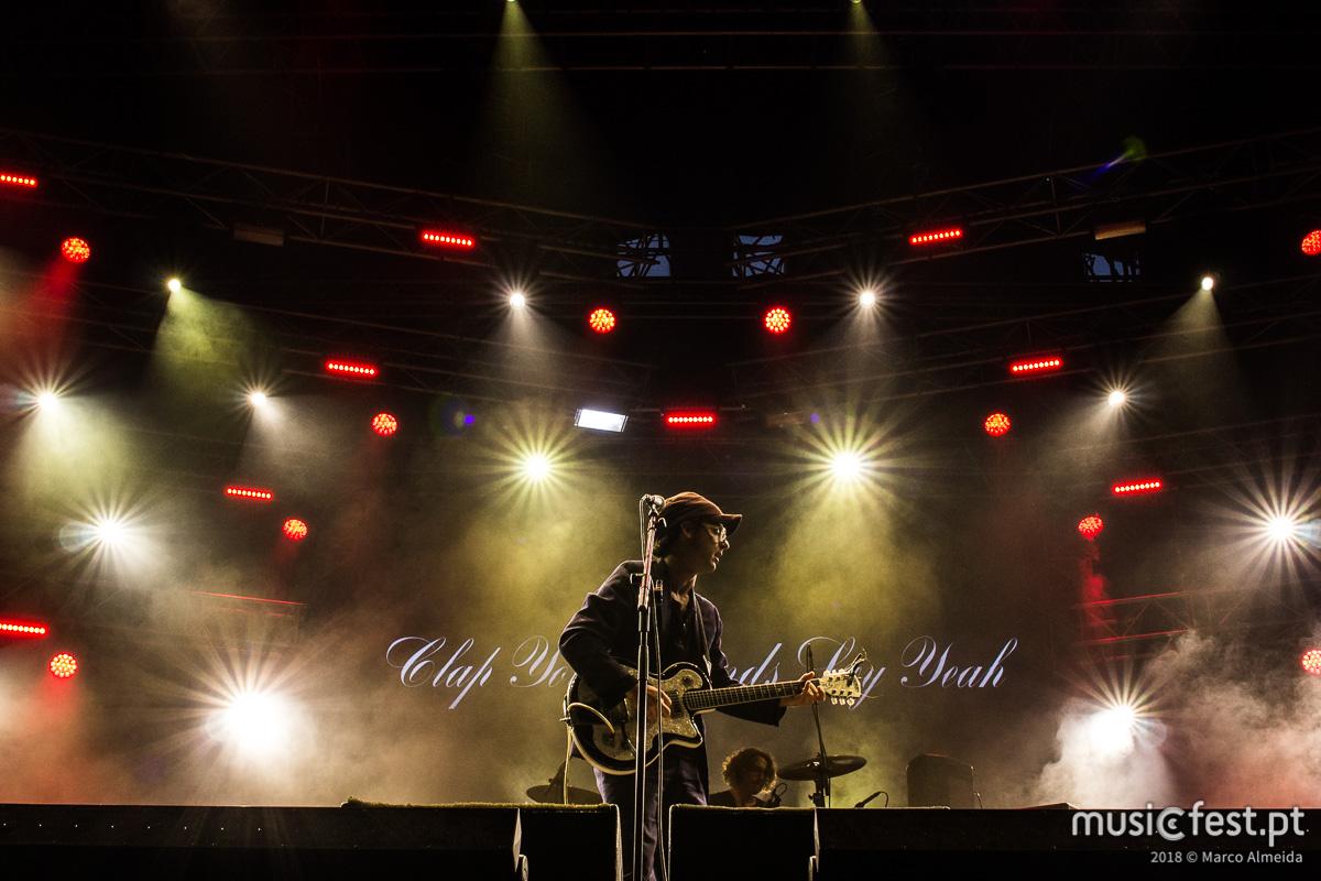 Vê aqui todas as fotos dos Clap Your Hands Say Yeah no NOS Alive
