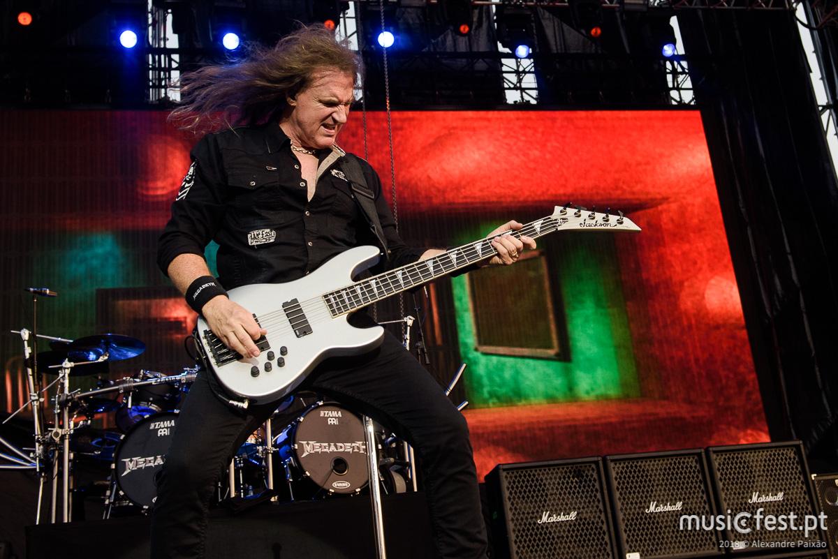 Vê aqui todas as fotos dos Megadeth em Oeiras