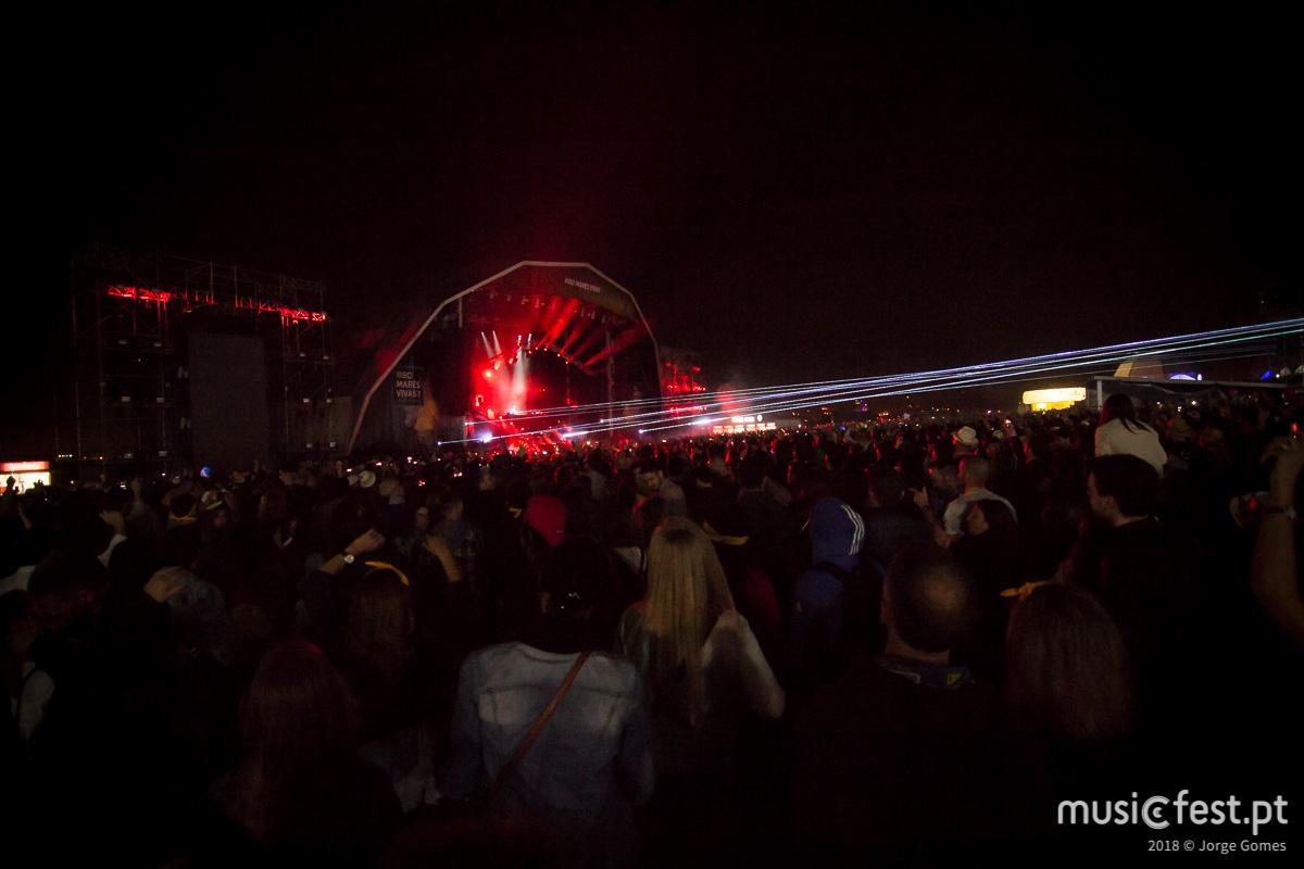 Vê aqui todas as fotos de David Guetta no MEO Marés Vivas
