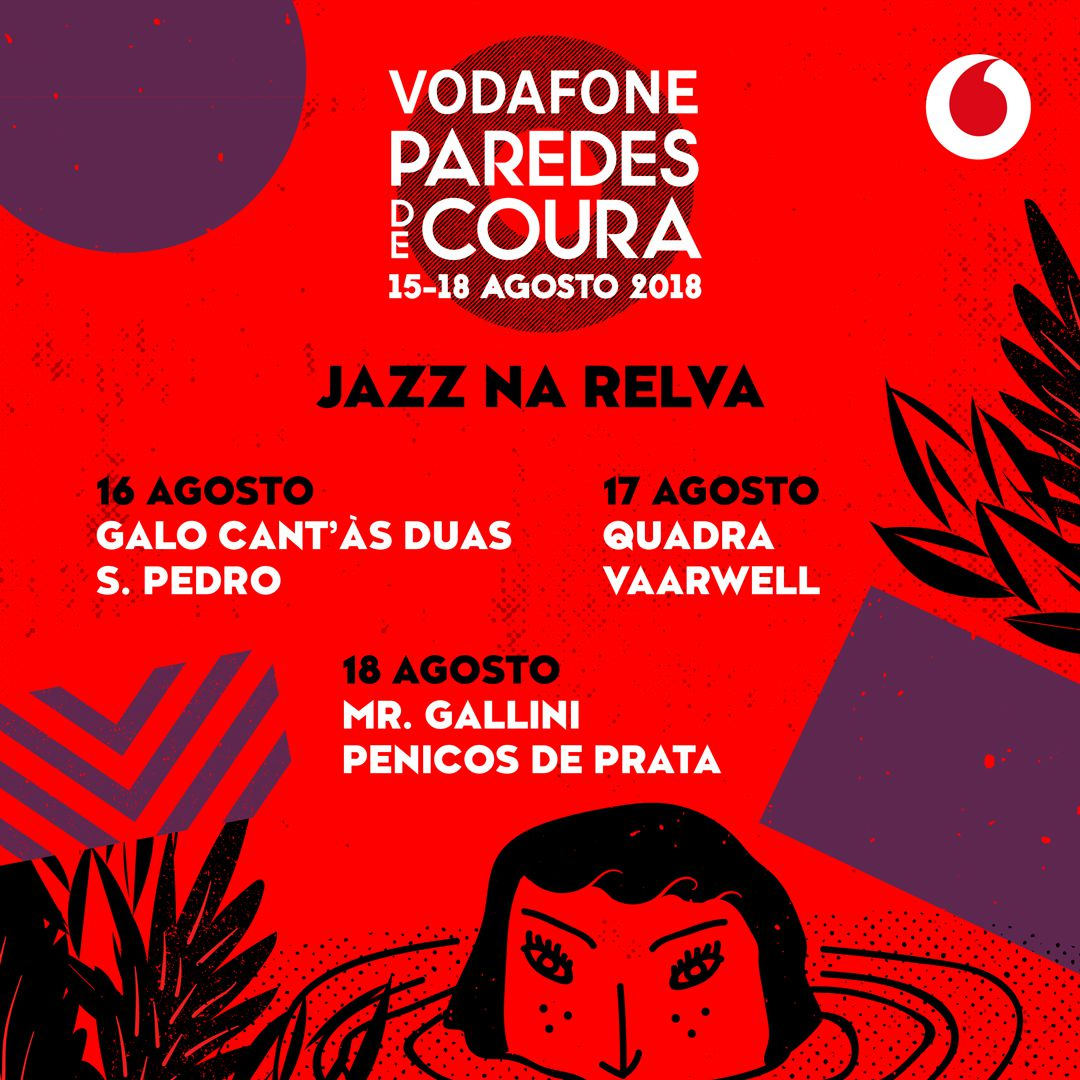 Jazz na Relva no Vodafone Paredes de Coura