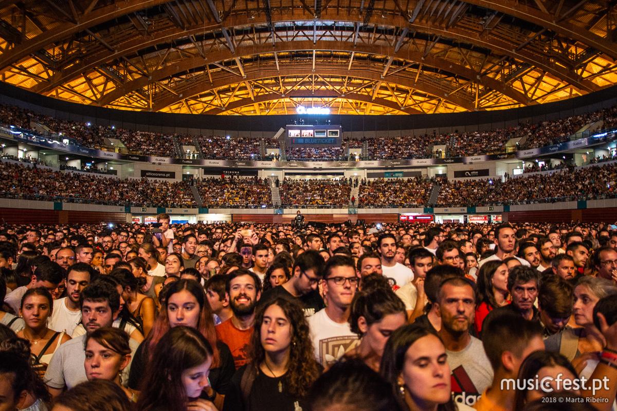 Vê aqui todas as fotos dos Imagine Dragons na Altice Arena