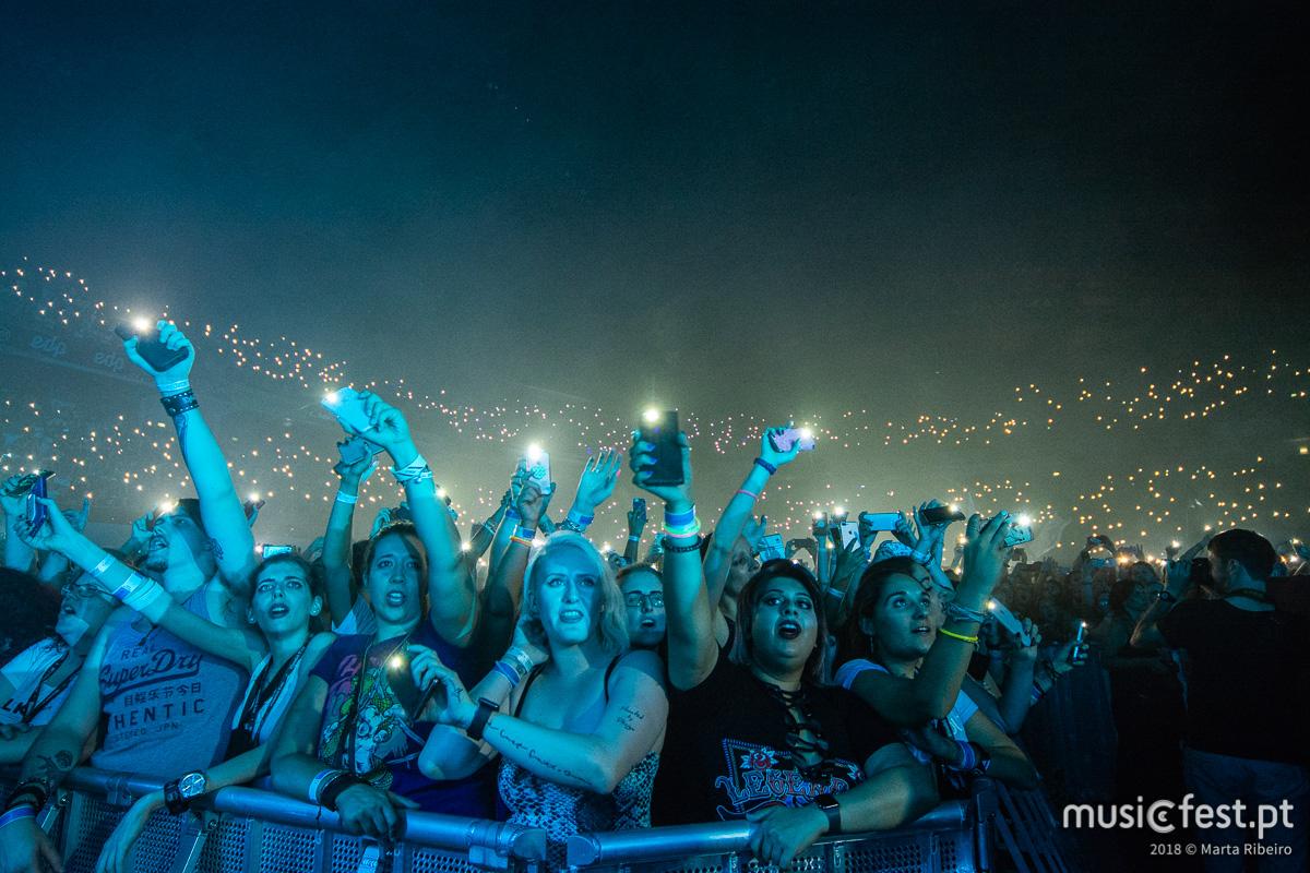 Vê aqui todas as fotos dos 30 Seconds to Mars na Altice Arena