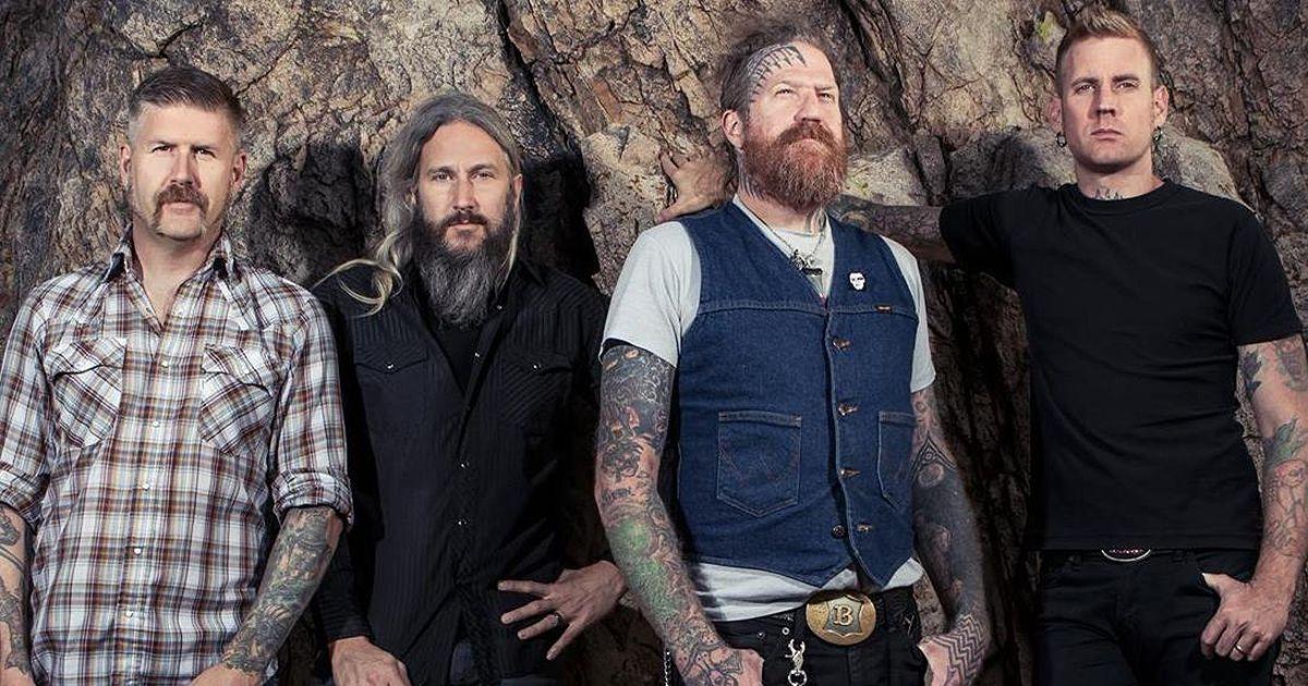 Mastodon ao vivo em Portugal em Fevereiro de 2019
