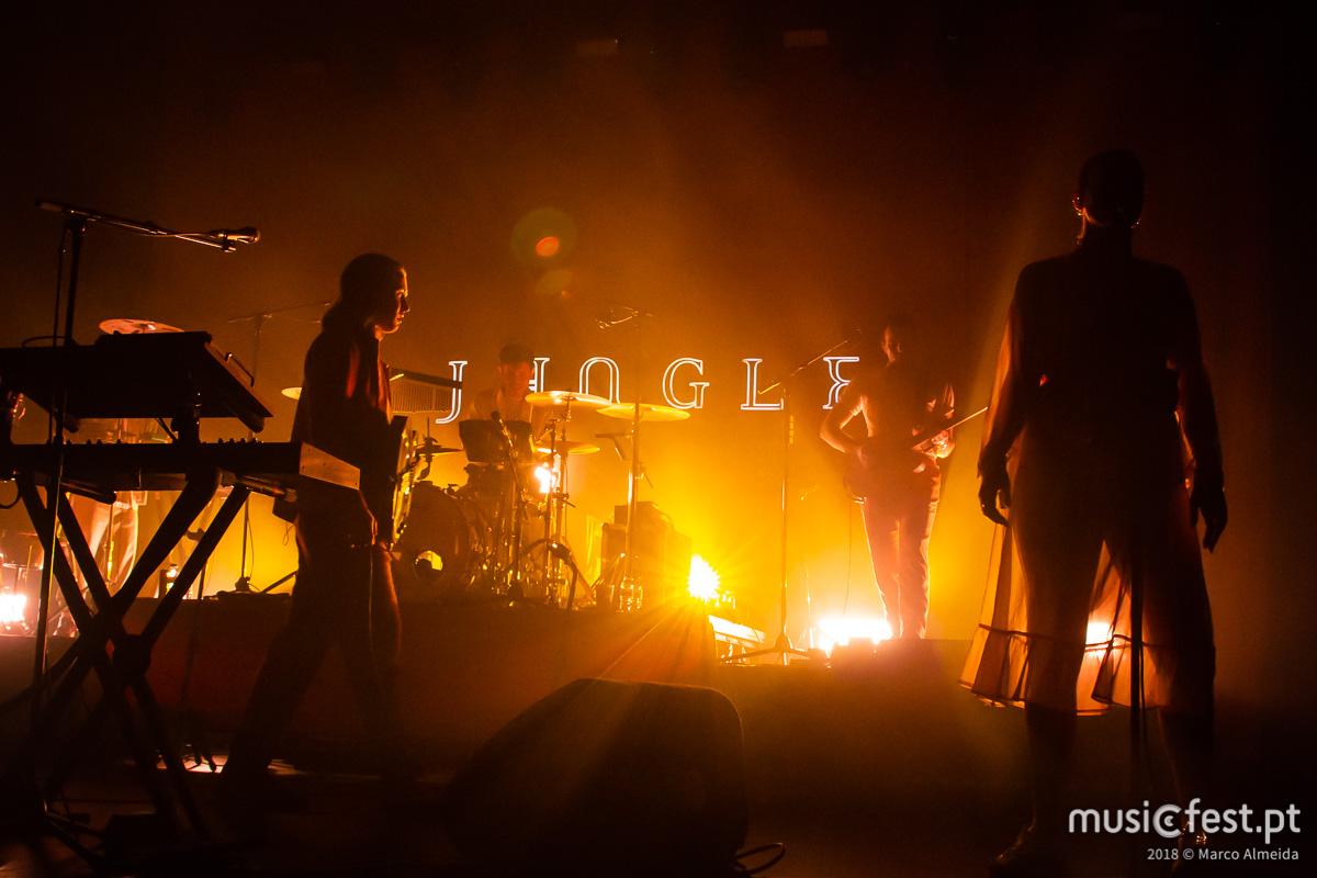 Os Jungle actuam no Super Bock Super Rock a 18 de Julho