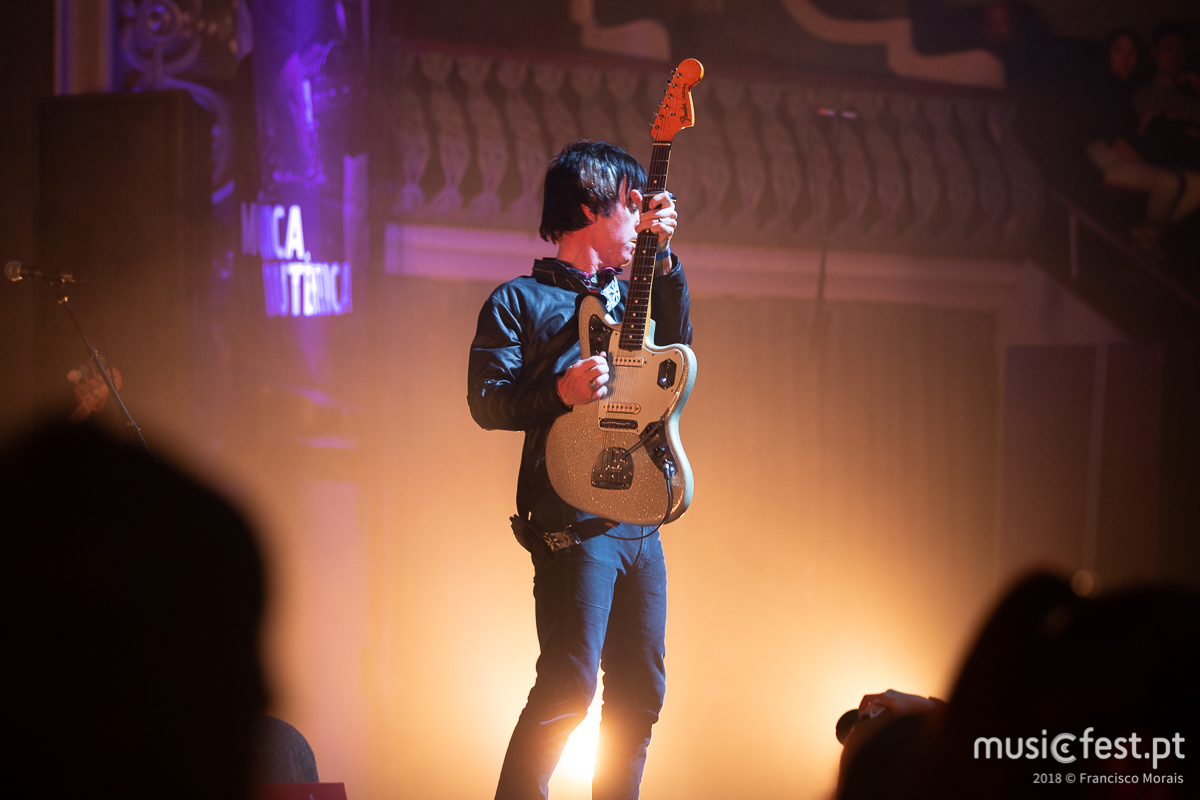 O cometa Johnny Marr no Super Bock em Stock