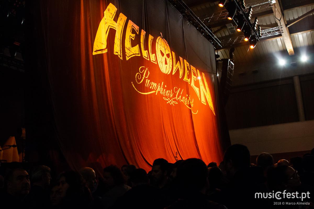 Vê aqui todas as fotos dos Helloween na Sala Tejo