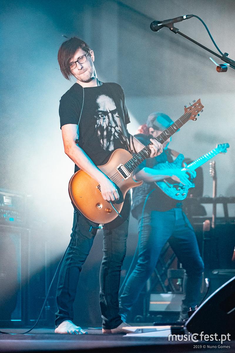 Vê aqui todas as fotos de Steven Wilson na Altice Arena