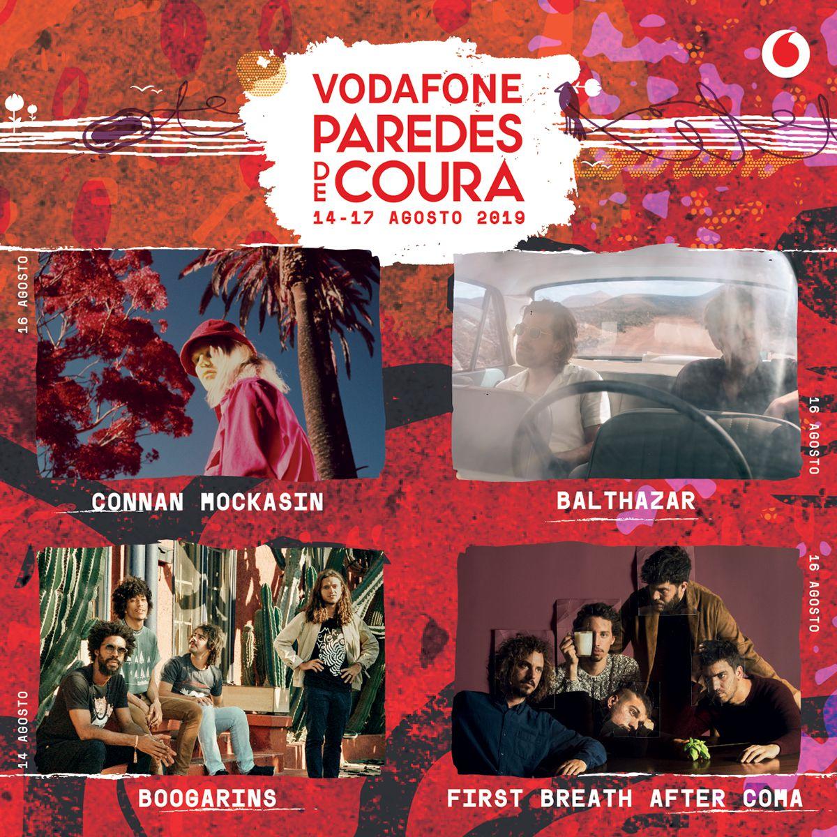 Connan Mockasin, Balthazar, Boogarins e First Breath After Coma confirmados no Vodafone Paredes de Coura