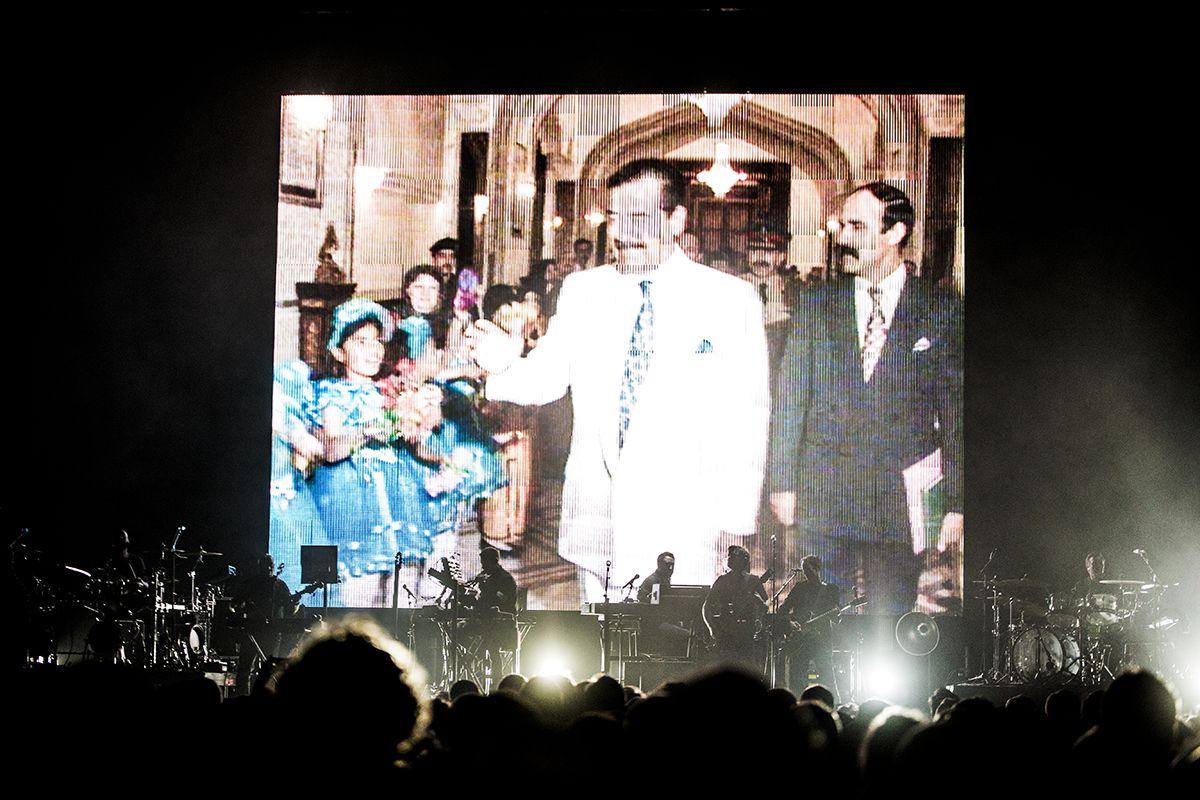 Fascínio Massivo - reportagem no concerto dos Massive Attack no Campo Pequeno