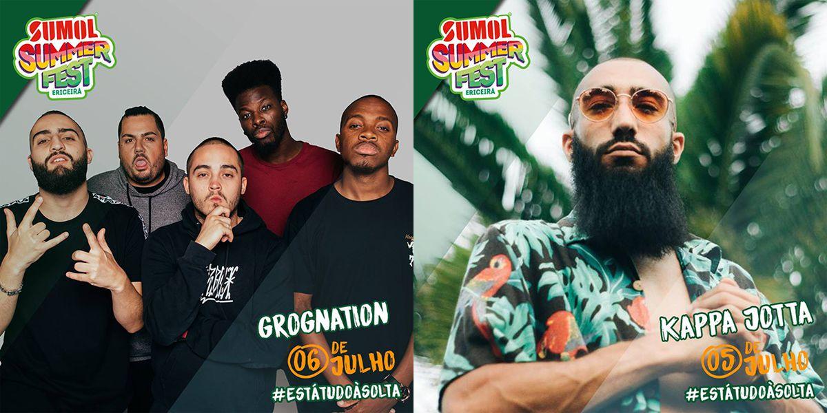 Sumol Summer Fest anuncia GROGNation e Kappa Jotta