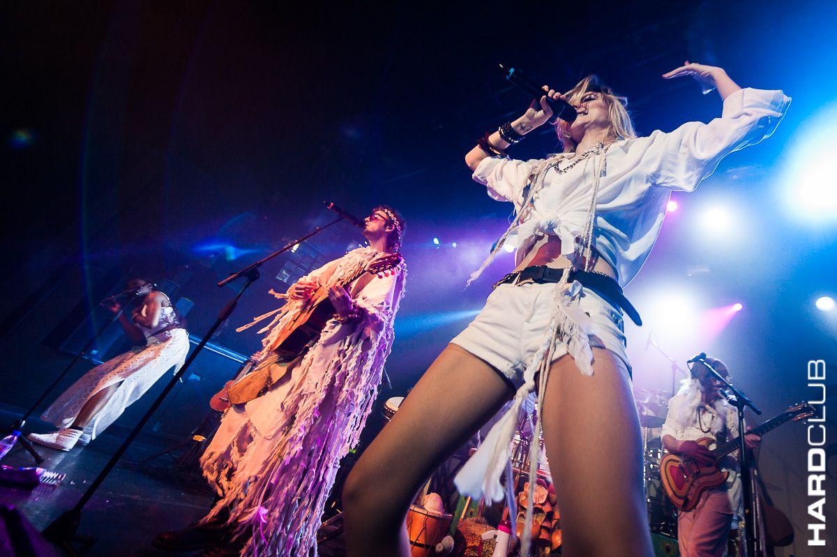Crystal Fighters no Hard Club - Será possível ficar cristalizado num concerto?