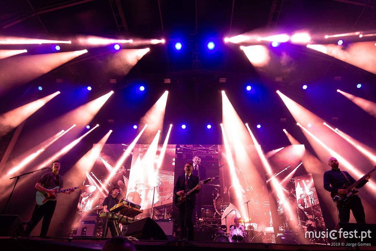 Vê aqui todas as fotos dos Franz Ferdinand no North Music Festival