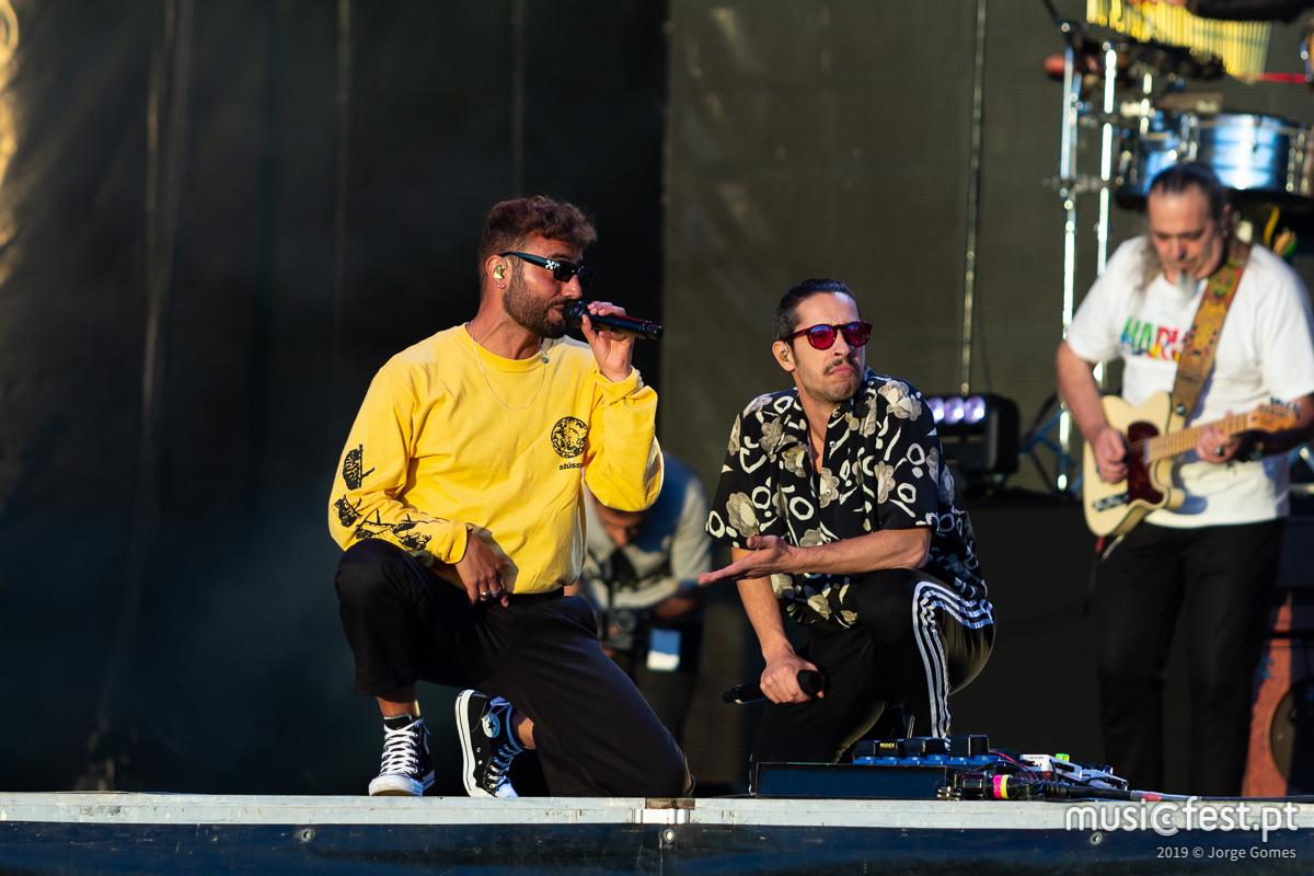 Vê aqui todas as fotos dos Expensive Soul no North Music Festival