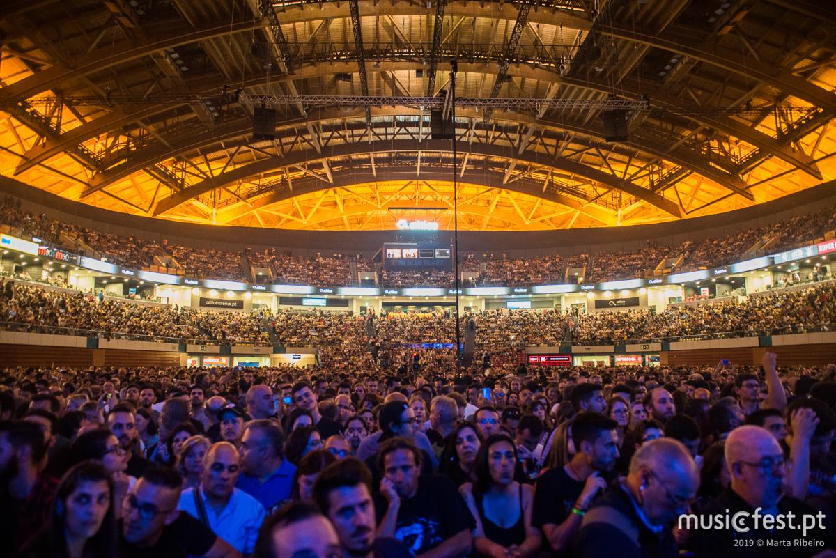 Vê aqui todas as fotos dos Scorpions na Altice Arena