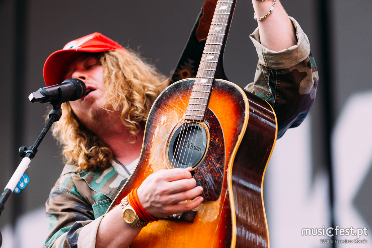 Vê aqui todas as fotos de Ben Kweller no Estádio da Luz