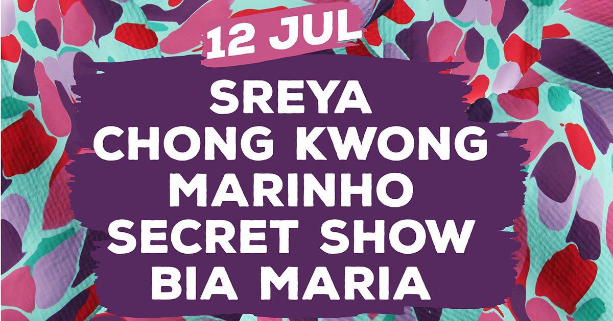 Sreya, Chong Kwong, Marinho e Bia Maria - NOS Alive com hip-hop no feminino
