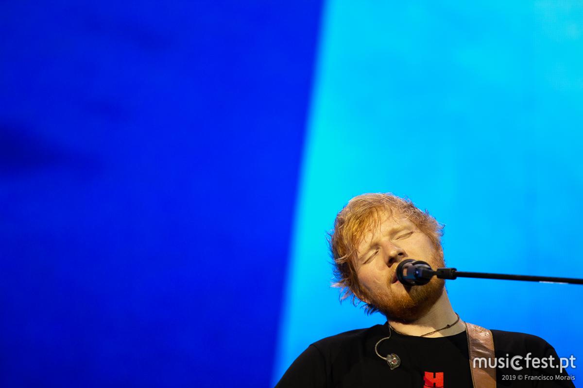 A segunda noite de Luz para Ed Sheeran
