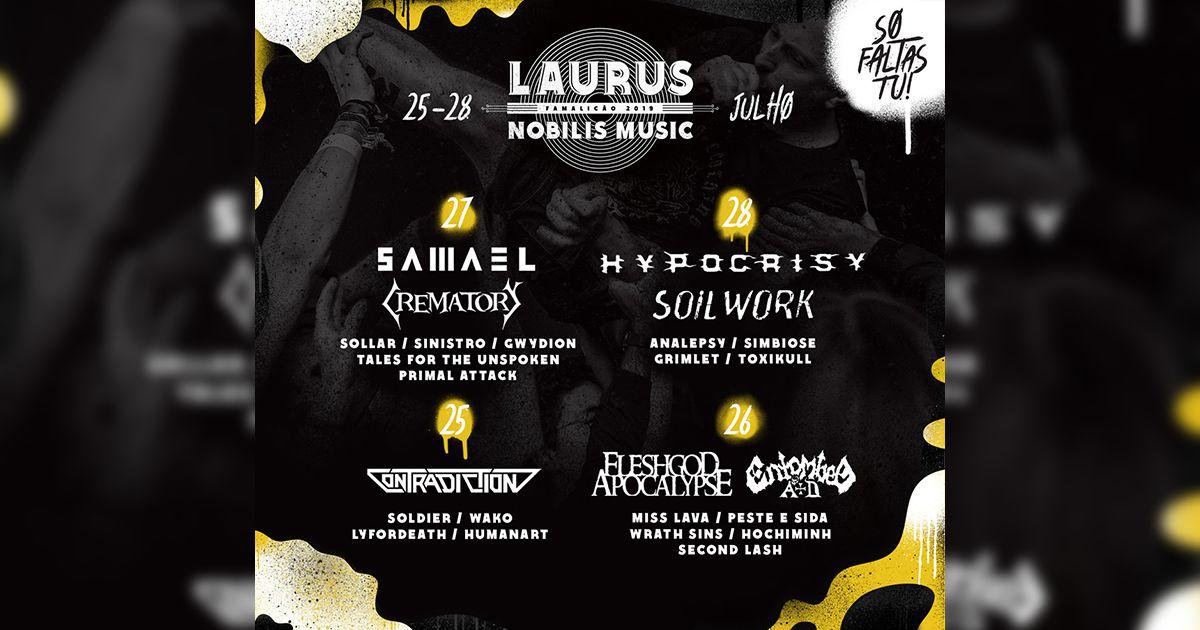 O Laurus Nobilis Music está a chegar...