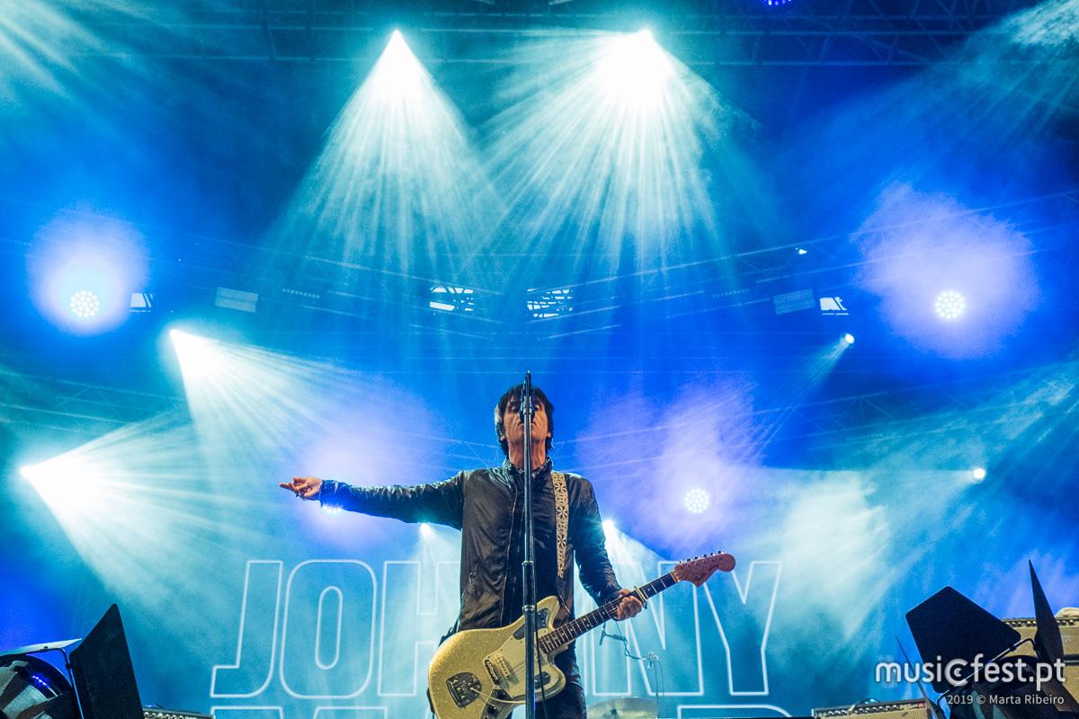 Vê aqui todas as fotos de Johnny Marr no NOS Alive