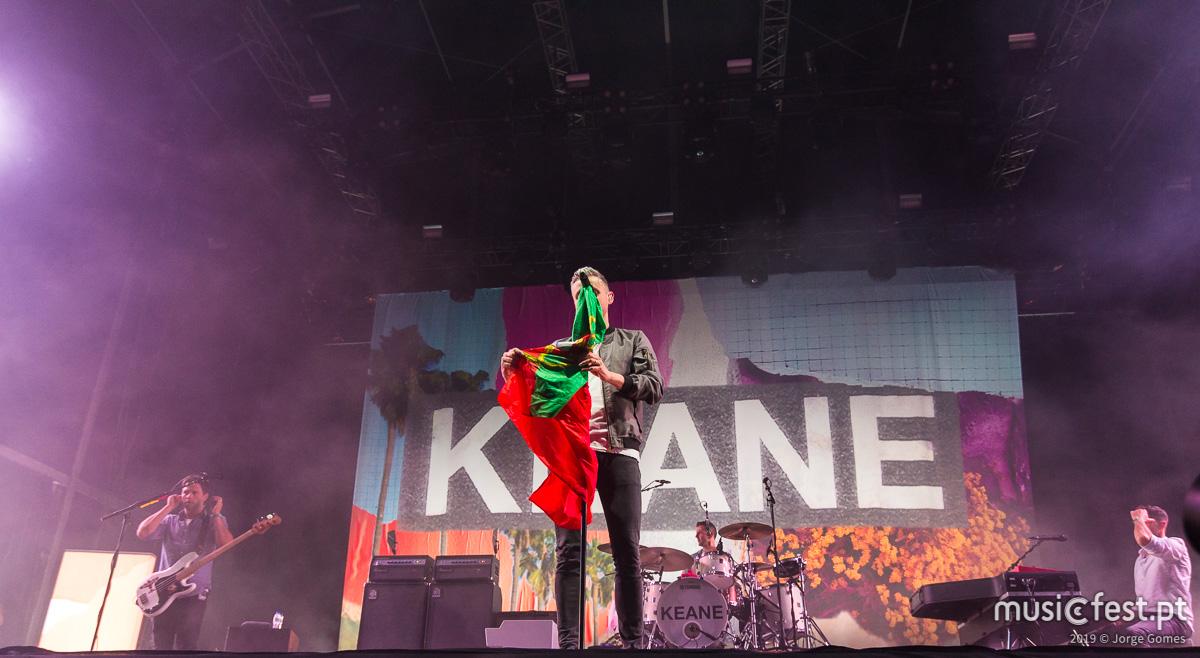 Vê aqui todas as fotos dos Keane no MEO Marés Vivas