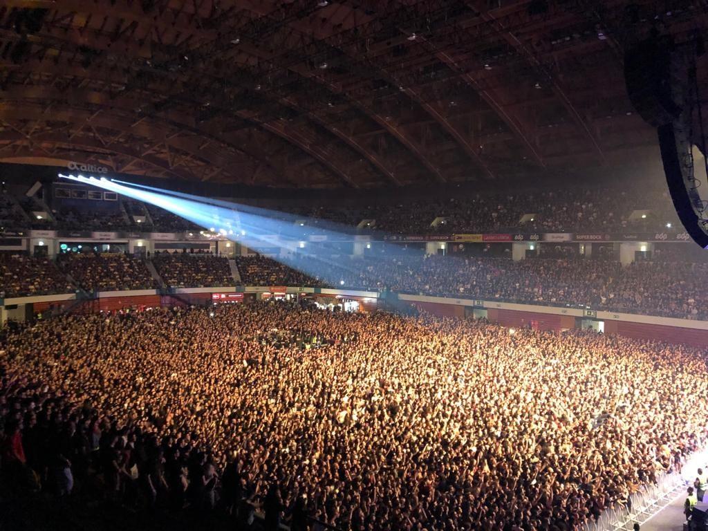 Panorama geral da Altice Arena - Foto da organização