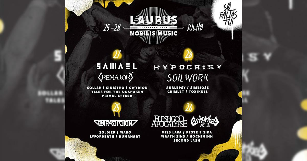 Passatempo: Passes para o Laurus Nobilis Music 2019