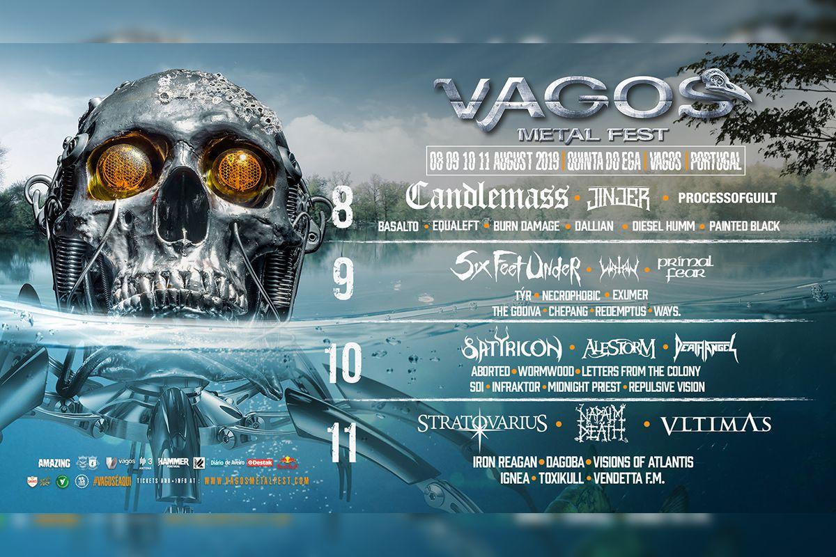 Passatempo: Passe geral para o Vagos Metal Fest 2019